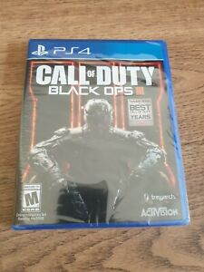 Call of Duty: Black Ops 3 III PlayStation 4 PS4 NEW SEALED $21.99