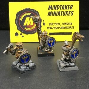 Dwarves Ironbreakers Command x3 #26514