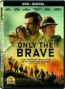 Only The Brave 2017 DVD NEW $5.10