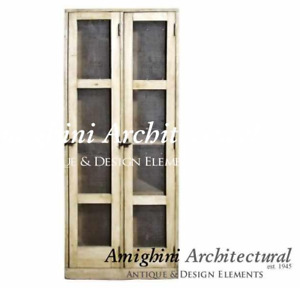 C – Antique Wardrobe Two Right Hand Doors with Screen. A3107 $2850.00