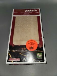 Holiday Living Light Styles Luminarias amp; Candles 10 Pack Fire Retardant Paper