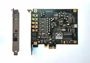 Creative 7.1 Channels 24 bit 96KHz PCI Express 1x  X Fi Titanium Sound Card $30.00