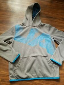 UNDER ARMOUR HOODIE BOYS YOUTH LARGE GRAY $16.99