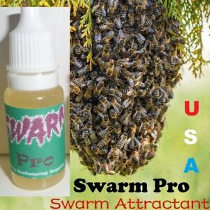 For Beekeeper Bee Queen Pheromone Swarm Attractant Lure Bait Trap Made USA