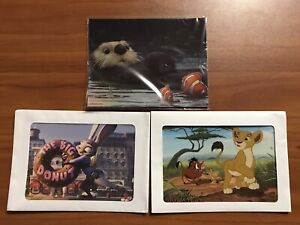 Lot Of 6 Disney Lithographs Finding Dory Zootopia Lion King 2 $15.00