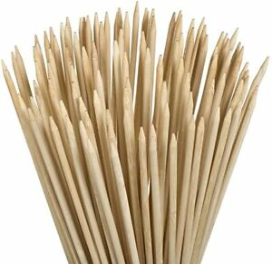 Bamboo Marshmallow SMores Roasting Sticks 36 Inch 5mm Thick Extra Long 130 Pcs