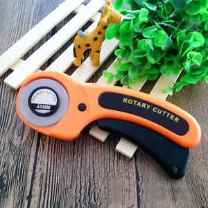 Rotary Cutter 45mm Blades Sewing Quilters Fabric Cutting Tool Accessories Set $5.98