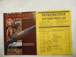 Winchester 1989 Catalog With price list Original paperback $3.85