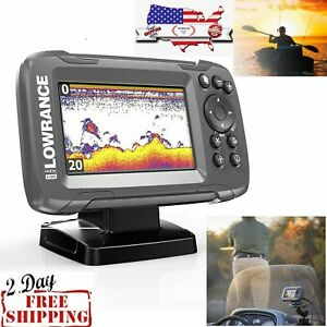 GPS FiSH FINDER GPS SALTWATER FRESHWATER BOAT FISHING DEPTH LOCATOR TRACKER $189.49