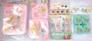 LOTS BUNDLE Sesame Streets Bento Lunch Box containers mini fork food pick sauce
