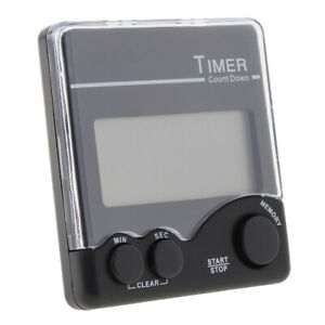 Electronic Magnetic Digital Timer with Bell Prompt and Large LCD Display $8.09