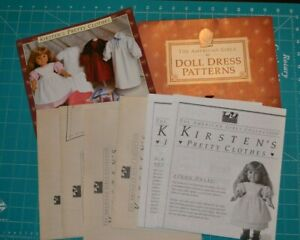 American Girl Doll Dress Patterns sewing for 18quot; Kirsten#x27;s Pretty Clothes $35.00