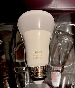 Philips Hue White Color Ambience A19 1 bulb New Bulb Removed From Multipack
