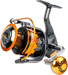 Burning Shark Fishing Reels 121 Bb Light And Smooth Spinning Reels Powerful