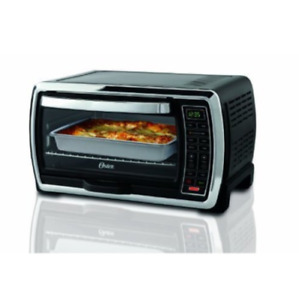 Oster Large Digital Countertop Convection Toaster Oven Black Stainless Steel