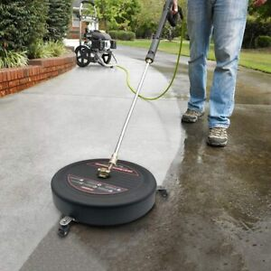 15.8quot;Pressure Washer Surface Cleaner with Pressure Washer Extension Wand3600PSI $84.92