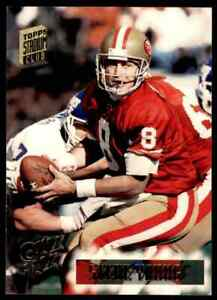 1994 TOPPS CLUB STEVE YOUNG A 144=11 #374 $1.15