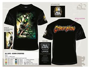 New CYBERFROG T Shirt with DALE KEOWN Art $40.00