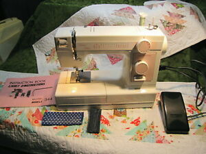 JANOME SEWING MACHINE LIMITED EDITION 344 FREE ARM CONVERTIBLE $150.00