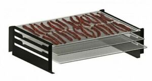 Camp Chef Pellet Grill amp; Smoker Jerky Rack Nickel plated steel Silver PGJERKY