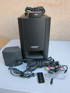 Bose CineMate GS Series II Digital Home Theater System Complete w Remote $184.99