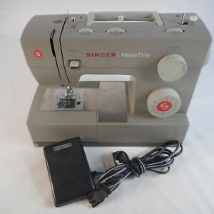 Singer Heavy Duty 5532 Sewing Machine w Foot Pedal. Tested. $139.99