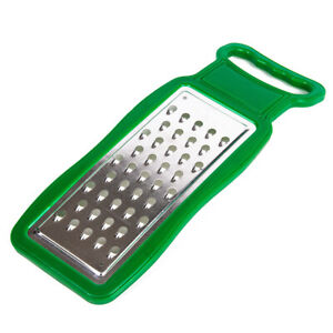 Flat Grater 10.8 x 3.8 in For Cheese Vegetables Portable