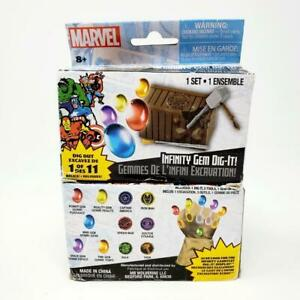 Marvel Infinity Gem Dig It Lot of 2 New Sealed Excavation Boxes inv:a17 $21.71