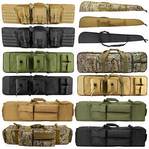Tactical Rifle Bag Gun Padded Soft Case Hunting Storage Backpack 37quot; 39quot; 47quot; 52quot;