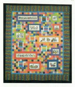 Under the Influence of Fabric Sewing Wall Quilt Pattern Panel By Quilt Country $10.99