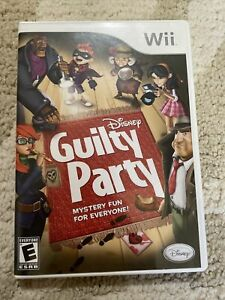 Disney Guilty Party Nintendo Wii With Manual Tested Working $9.00