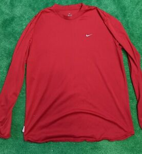 Nike Red Long Sleeve Dry Fit Shirt XL $8.00