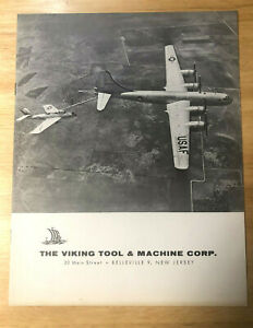 Vintage 1955 Brochure for the Viking Machine amp; Tool Corp. from Air Show NM $23.00