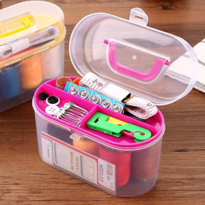 Sewing Kit Sewing Basket Organizer Box with Accessories Home Sewing Repair Tool $10.37