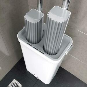 Sponge Mops Sets With Bucket Replace Hand Free Lazy Mops For Wooden Floor Cleans $94.99