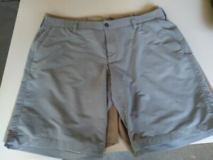 Under Armour shorts men size 42 two of them gray and tan $23.00