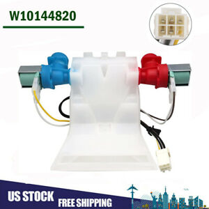 W10144820 Washer Water Inlet Valve For Whirlpool Kenmore AP6015761 WPW10144820 $30.39