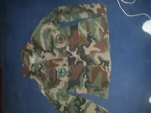 Air Force 2ea Camouflage Shirts and One Matching pants.