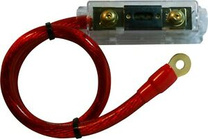 200 300 AMP Gold Terminal Fuse Holder BATTERY INSTALL KIT 5 RED WELDING WIRE $12.90