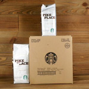 Starbucks Pike Place Ground Coffee 6 16oz 6lbs Bags Best Before: 10 2020