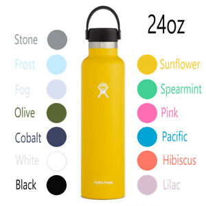 Hydro Flask 24oz standard mouth water bottle in various sizes and colors NEW $23.59