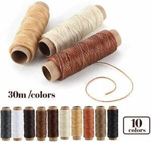 Leather Sewing Kit 31 Pcs Leather Working Tools Upholstery Kit with Waxed $23.79