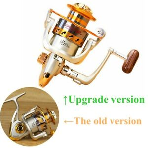 12BB Spinning Fishing Reels Metal Body Left Right Interchangeable 1000 7000 US
