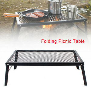 Portable Table Foldable Folding Camping Outdoor Picnic Travel Ultra Light Desk $44.09
