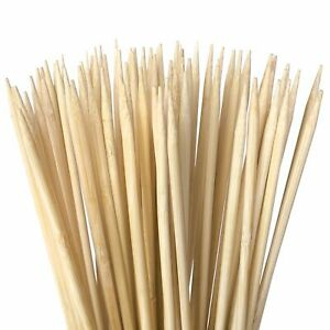 Zulay Bamboo Wooden Skewers Marshmallow Roasting Sticks for SMores Hot Dogs