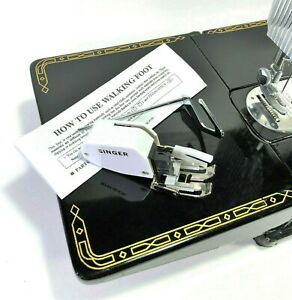 Singer Sewing Machine Low Shank Even Feed Walking Foot with Adjustable Guide New $18.99