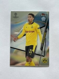 2020 21 Topps Finest UEFA Champions League Jude Bellingham Rookie Card #6 $12.25