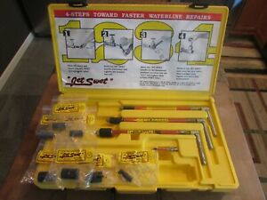 Brenelle Jet Swet Small Kit with Case AND 1 2quot; 3 4quot; and 1quot; Plumbing Tools EXTRAS $150.00