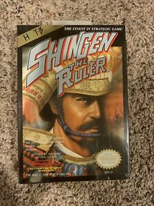 SHINGEN THE RULER NES Complete in Box RARE Sealed Vintage Collectors Brand New $2499.99