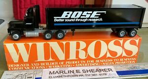 BOSE better sound though research TRACTOR TRAILER WINROSS TRUCK